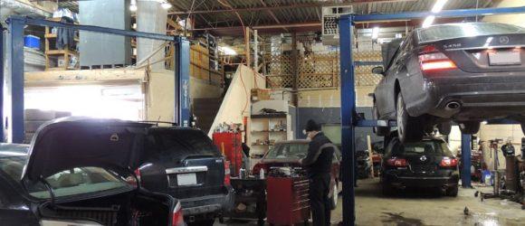 transmission repair shop